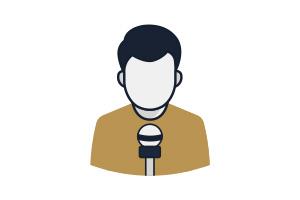 Flat Icon Moderator