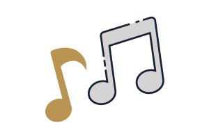 Flat Icon Musik