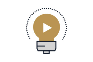 Flat Icon Video Marketing
