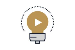 Flat Icon Video Marketing