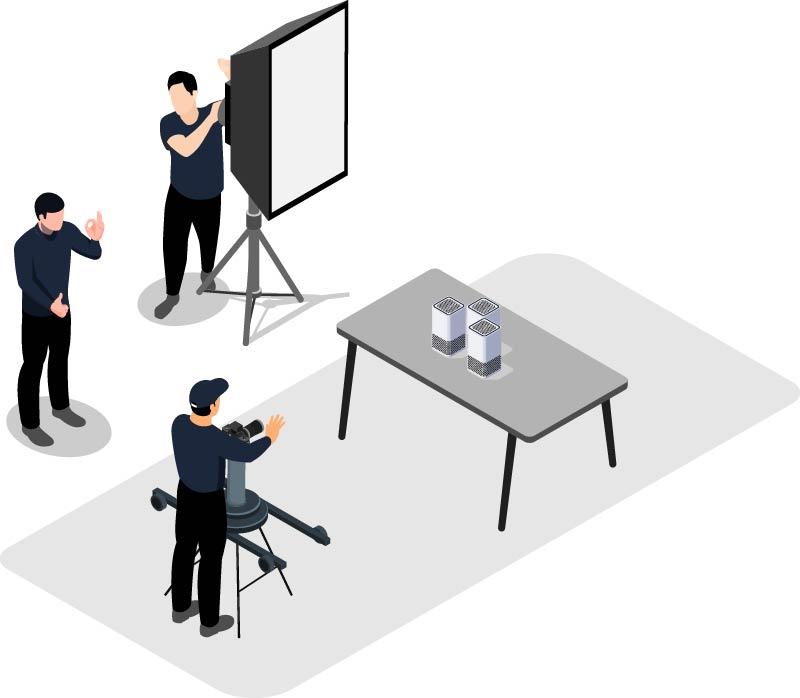 Isometrische Grafik Produktvideo